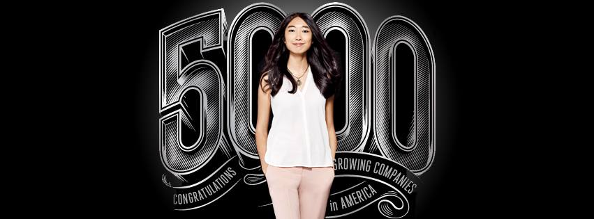 Jessica Mah, co-founder and CEO of inDinero, which makes small business accounting software. Inc Magazine Cover