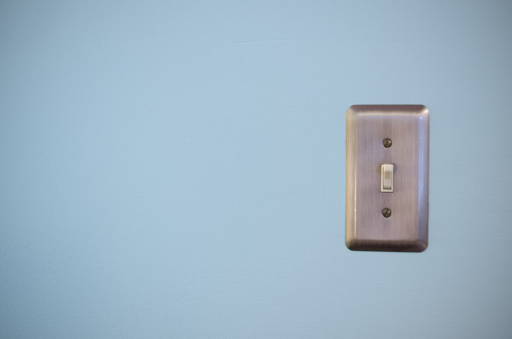 Light switch illustrates article that explains what a small business needs to switch to GAAP accounting