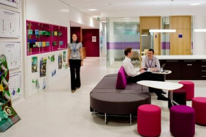 Image of a bright, fancy office space to illustrate the LLC small business entity