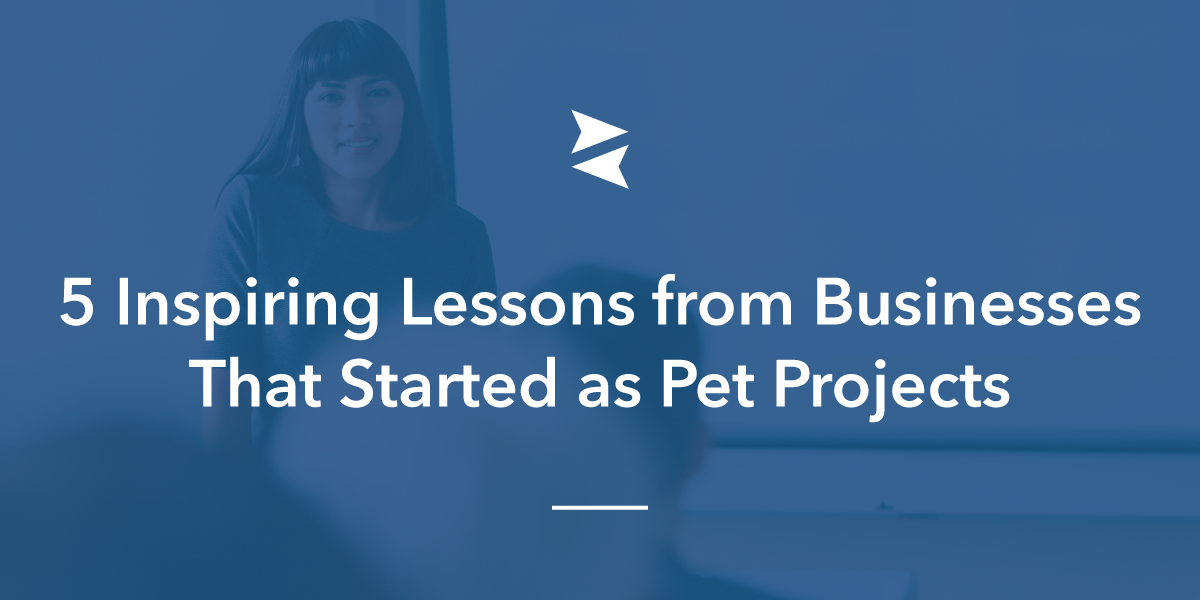 Social Media Sharing Banner Image: 5 Inspiring Lessons from Businesses That Started as Pet Projects
