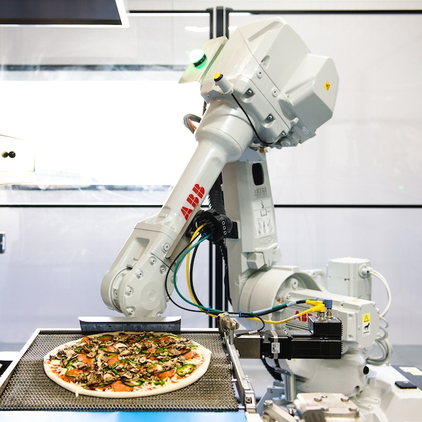 Zume Pizza robot, Bruno, helps the startup keep a lean headcount
