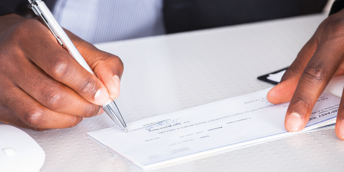 Can I write-off my check fees and interest?