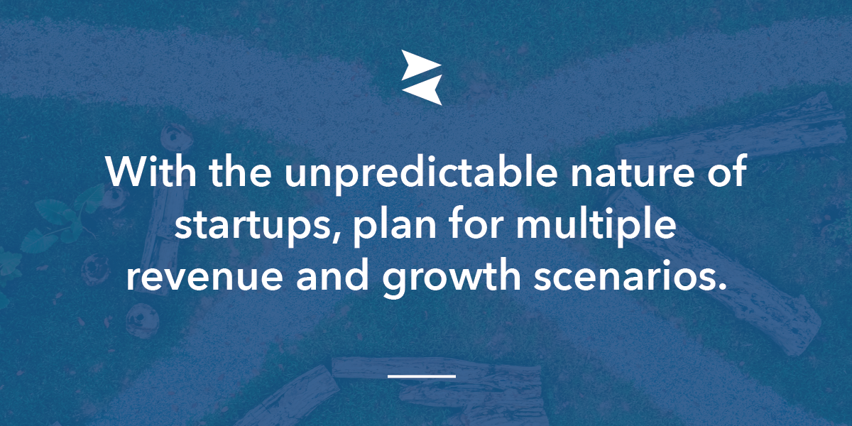 Banner Image: When you're at a startup it's essential to plan for multiple outcomes.