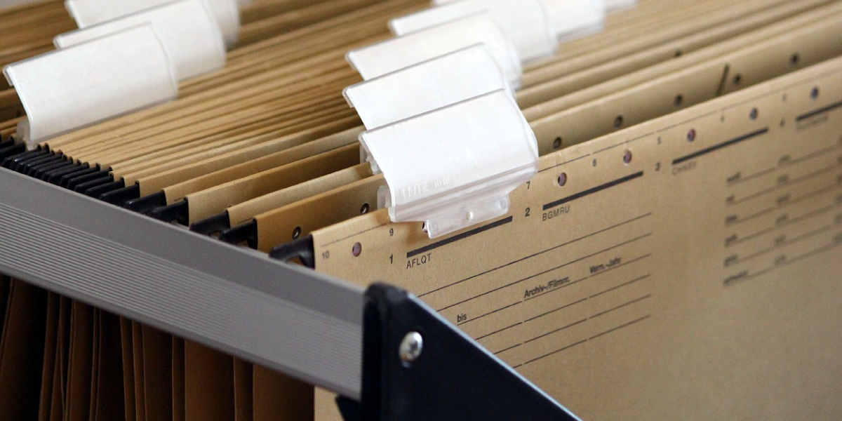 Cover Photo of files of businesses federal tax returns