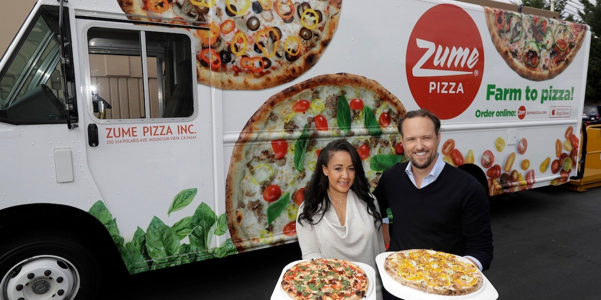 Zume Pizza co-founders & co-CEOs Julia Collins and Alex Garden on how to build a startup in good taste