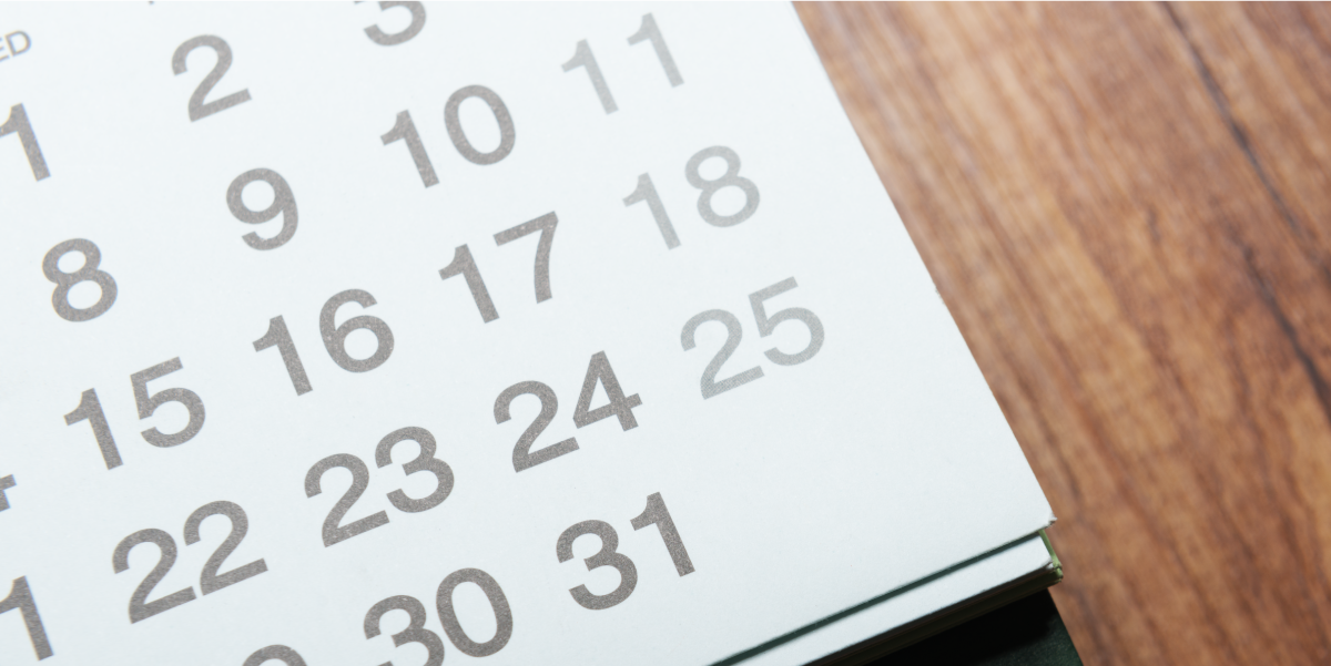 Image of Calendar with Business Tax Deadline for Filing R&D Credits for 2016