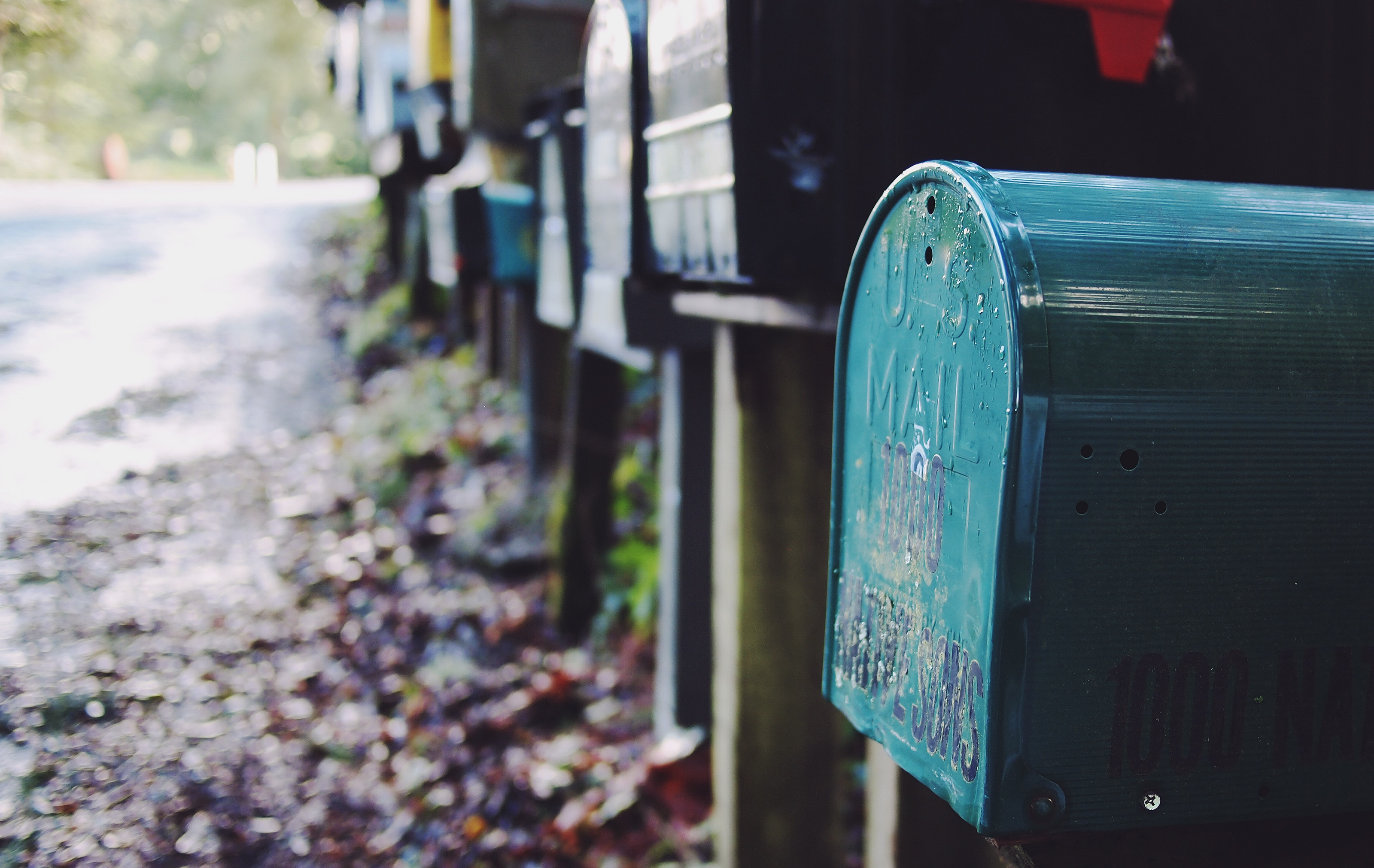 Blue mail box illustrates Q&A on growing your startup