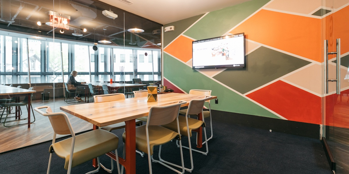 shared office spaces are more stylish and have better amenities for functional meetings
