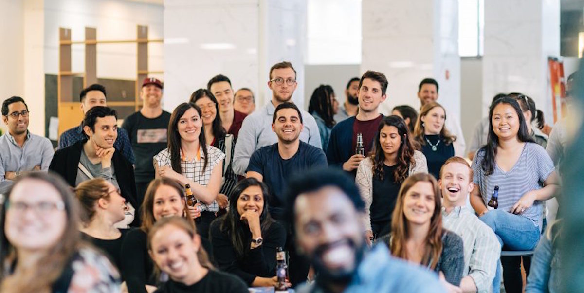 Yes, it is possible to grow a large startup team at a coworking space