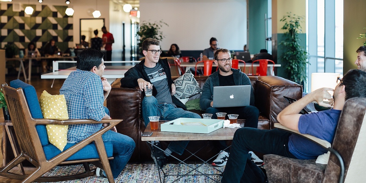 more big brands are starting to use coworking spaces