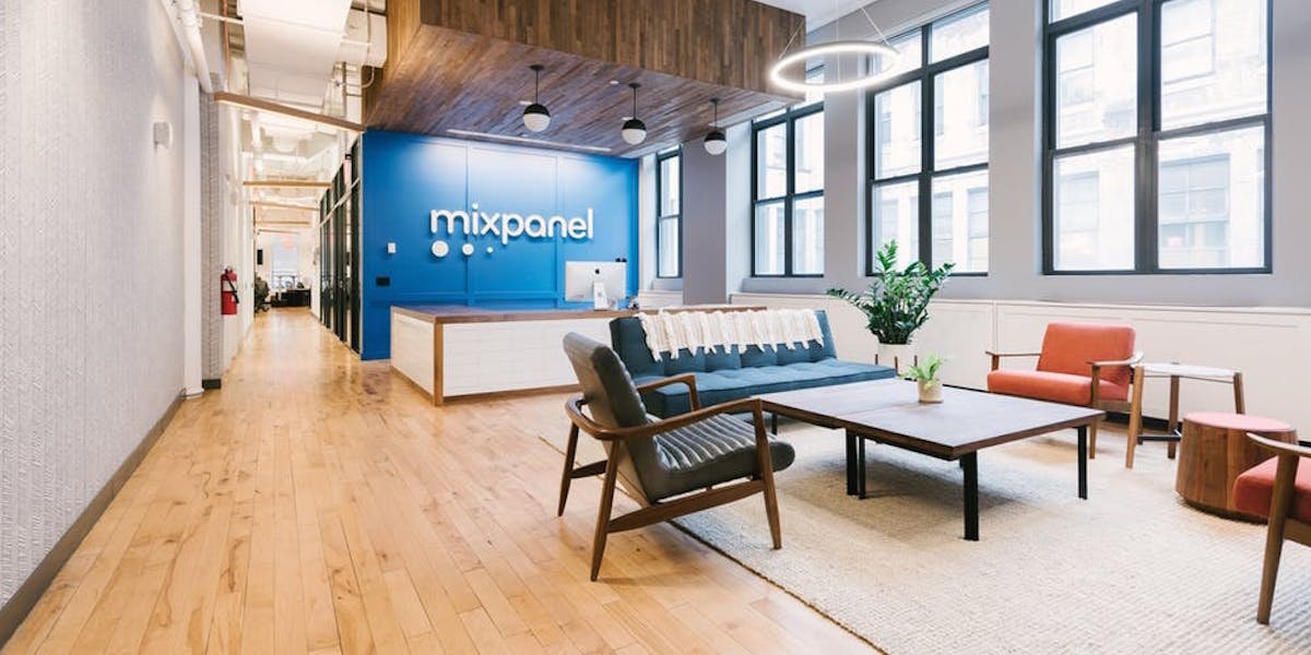 Mixpanel customizes their workplace through wework NYC